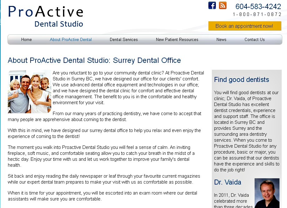 Proactivedentalstudio.com