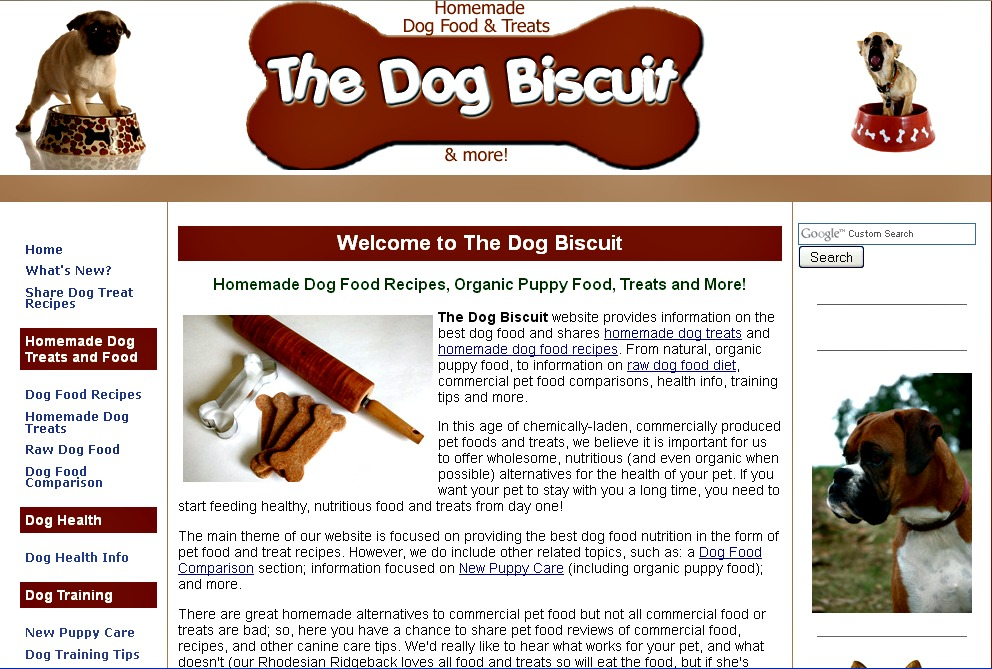 The-Dog-Biscuit.com